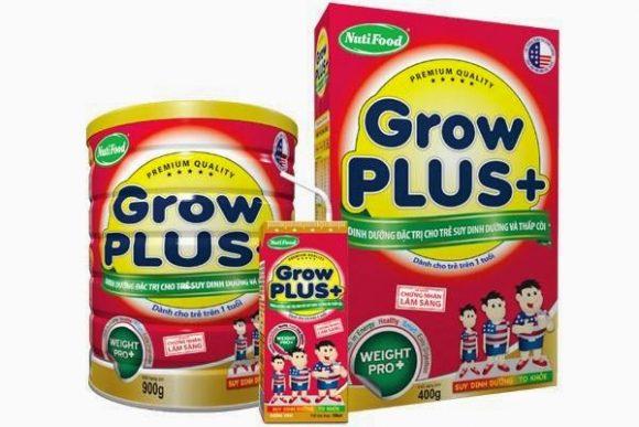 Dòng sữa Nutifood Grow Plus