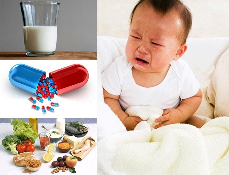 Nguyên nhân trẻ bị rối loạn tiêu hóa