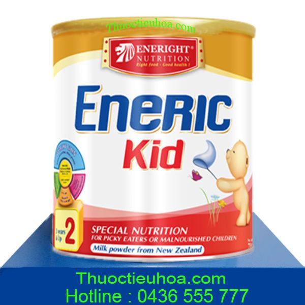 Sữa tăng cân Eneric Kid cho trẻ đặc biệt biếng ăn