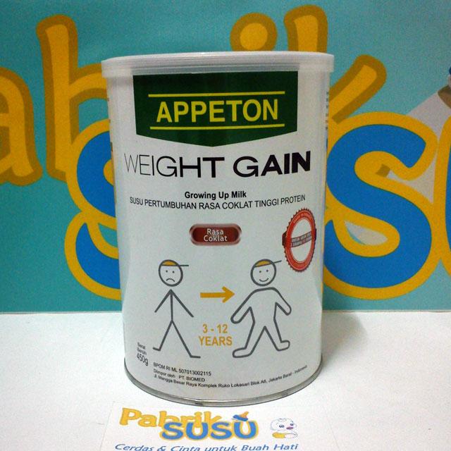 Sữa tăng cân cho trẻ của Pháp : Appeton Weight Gain Children