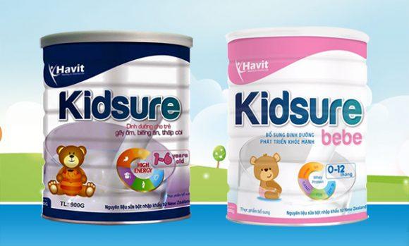 Sữa tăng cân phục hồi thể trạng KIDSURE