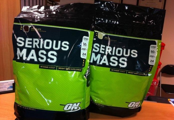 Sữa tăng cân Serious Mass dạng túi