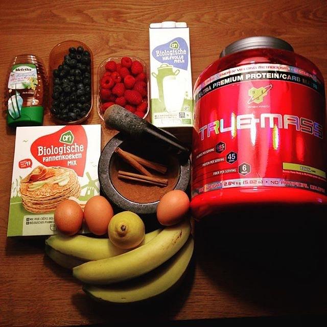 Sử dụng True Mass kết hợp chế độ dinh dưỡng hợp lý (nguồn internet)