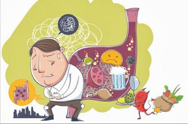Xuất hiện triệu chứng đau bụng âm ỉ