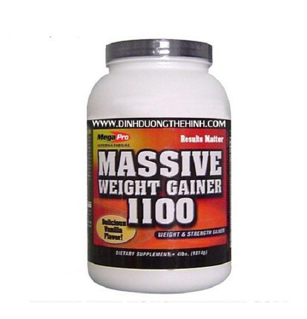 Hình ảnh Sữa tăng cân massive weight gainer 1100