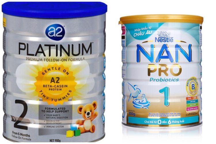 Một số thương hiệu sữa tăng cân của Úc
