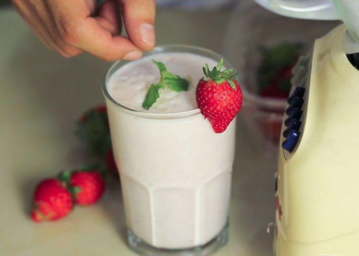 Sữa lắc giúp người gầy tăng cân hiệu quả và an toàn
