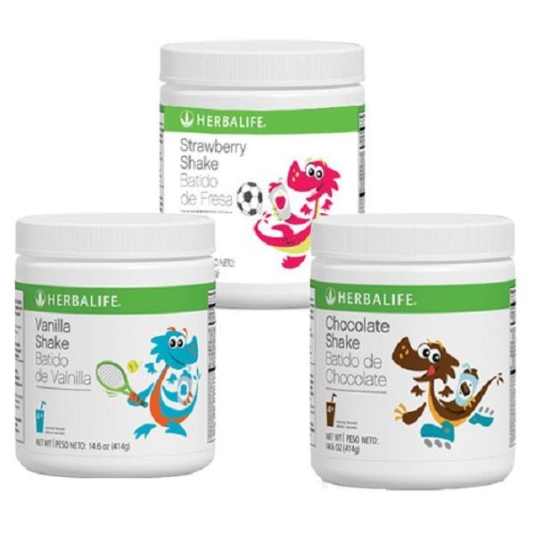 sữa tăng cân Herbalife Kid Shake của mỹ cho bé