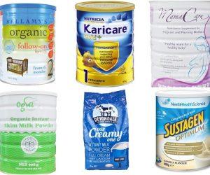 Những sản phẩm sữa tăng cân của Úc nổi bật cho bà bầu và trẻ em