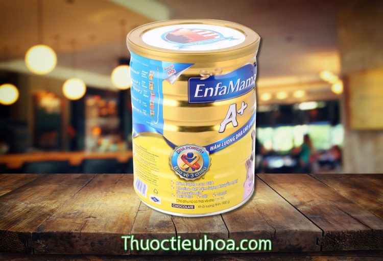 Sữa bột EnfaMama A+ sữa cho bà bầu