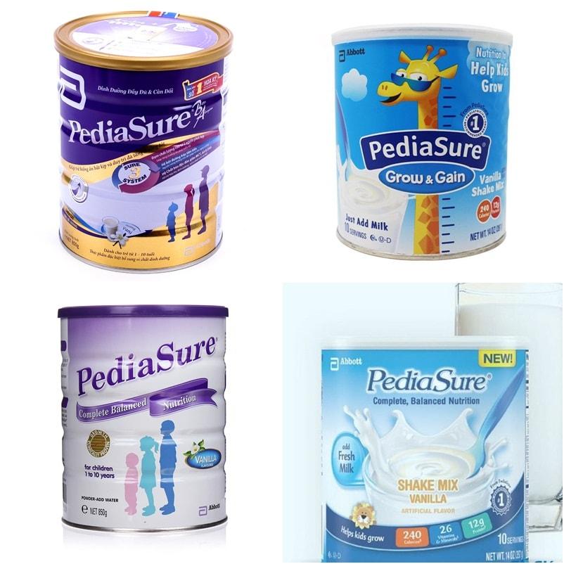 Sữa Pediasure tăng cân cho bé của mỹ