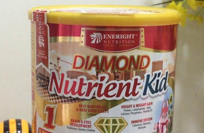 Sữa bột Nutrient Kid thích hợp cho sự phát triển cân nặng