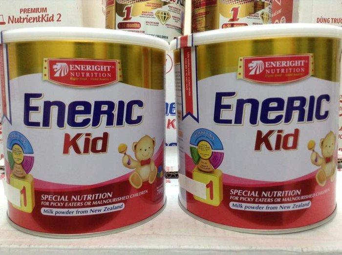 Sữa Eneric kid được ưa chuộng sử dụng
