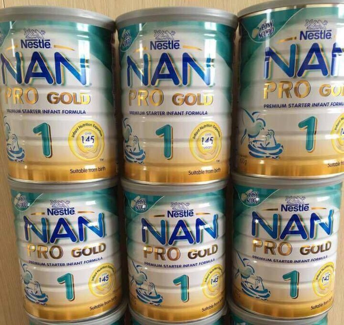Sữa bột tăng cân Nan Pro số 1 tốt cho trẻ