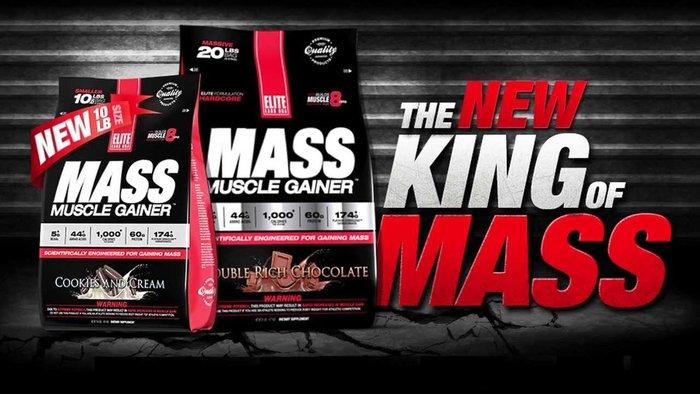 Elite Labs Mass Muscle Gainer 10LBS phù hợp cho người tập gym