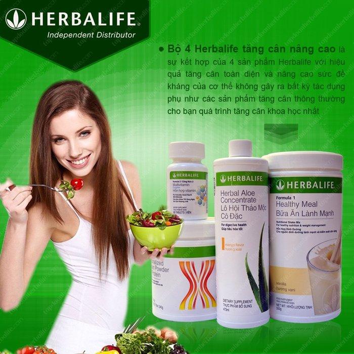 Bộ tăng cân nâng cao herbalife