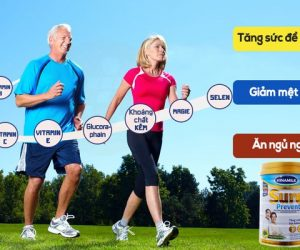 Sữa bột dinh dưỡng dành cho người già