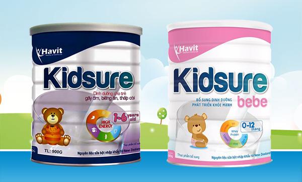 sữa tăng cân kidsure