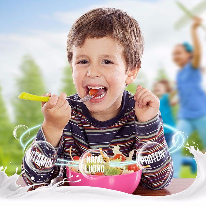 Sữa bổ sung để trẻ khắc phục tình trạng suy dinh dưỡng