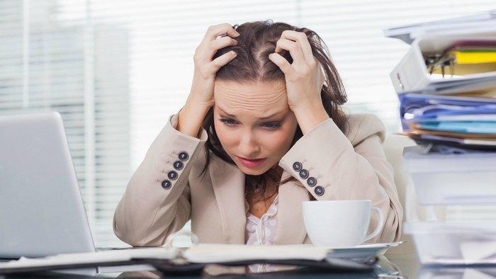 Tâm lý căng thẳng gây áp lực lên hệ tiêu hóa