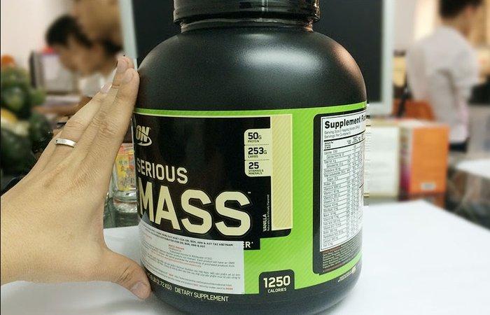 Serious mass là sữa tăng cân nhanh và an toàn